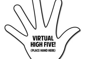 Tumblr Virtual High Five